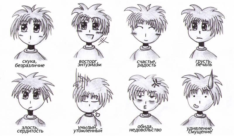 Эмоции картинки для детей смайлики - e12